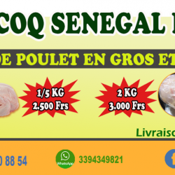 COQ SENEGAL marketing