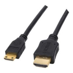 cable hdmi plaqué d'or